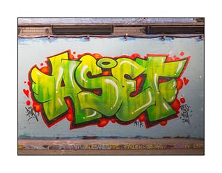 Street Art (PoW), South East London, England.