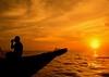 """Last Light, Last Call"" (JR Marquina) Tags: asia silhouette tonlésap cambodia"