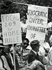 Home rule day at Washington Monument: 1966 (washington_area_spark) Tags: home rule voting self government district columbia washington dc rally march demonstration monument 1966 marion barry free movement sncc youth organizations united vote right white supremacy racism