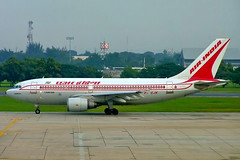 VT-EJK   Airbus A310-304 [429] (Air India) Bangkok Int'l~HS 12/11/2005 (raybarber2) Tags: 429 airliner cn429 flickr indiancivil johnboardleycollection vtbd vtejk