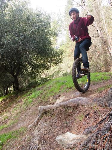 Jack on the bonus trail