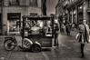 Mobile Coffee Shop (Toulouse - France) (Guy World Citizen) Tags: rue ville commercemobile street people coffeeshop city toulouse france blackwhite ngc