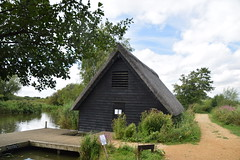 Education Centre (Worthing Wanderer) Tags: norfolk summer sunny cloudy farmland ludham howhill windmill august