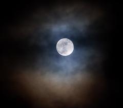 Super Blue Moon, 2018 (Sara Simmons Photography) Tags: moon clouds canon100400mm supermoon bluemoon superbluemoon canon100400 bonnyrigg scotland midlothian nightsky