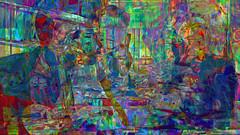 Zwiegespraech 11d im Buero (wos---art) Tags: bildschichten zwiegespräche dialog kommunikation auseinandersetzung beziehung gespräch unterhaltung gott god begegnung meeting