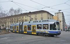 Torino, Corso Regina Margherita 14.01.2018 (The STB) Tags: tram tramway tranvia strassenbahn strasenbahn publictransport citytransport öpnv torino turin trasportopubblico