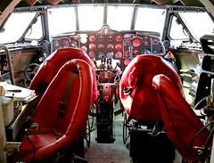 DH 106 Comet 1A cockpit (kitmasterbloke) Tags: dehaviland museum londoncolney hertfordshire uk aviation wreck relic wr civil airliner jet