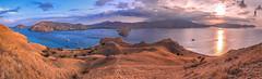 Sunset over Komodo Island - Indonesia (Guiyomont) Tags: komodo sunset landscape travel indonesia island cruise