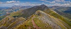 An amble along the ridge (trojanhorse1956) Tags: glencoe beinn a bheithir ballachulish scotland munros hills ridge scenic panorama nikon