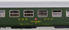 RD15108.  Liliput SBB Corridor 2nd. (Ron Fisher) Tags: modelrailway modelleisenbahn railwaymodels liliput hogauge ho sbb cff ffs swissrailways