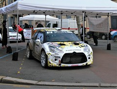 #12 Citroën DS3 (kinsarvik) Tags: castillonlabataille gironde bordeauxaquitaineclassic rallye rally
