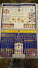"""ARMY/NAVY INSIGNIA POSTERS, WWII VINTAGE.  $95. Pr. • <a style=""""font-size:0.8em;"""" href=""""http://www.flickr.com/photos/51721355@N02/27849212909/"""" target=""""_blank"""">View on Flickr</a>"""