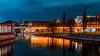 Spree (dino.jnsk) Tags: berlin nacht night germany deutschland light licht color colour colorful colourful spree river flus blue orange