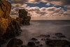 Mystery Rocks (Olof Virdhall) Tags: rocks sea water longexposure cliffs canon eos5 mkiii olofvirdhall sweden