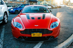 2012 Aston Martin V12 Vantage (Rivitography) Tags: hwy1608 newyork 2012 astonmartin v12 vantage exotic car supercar expensive british fast orange vehicle greenwich connecticut 2018 canon lightroom rivitography
