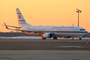 9K-GCC | Boeing 737-9BQER/W (BBJ3) | State of Kuwait