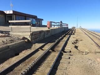 Pikes Peak Railway Tracks (El Paso County, Colorado)