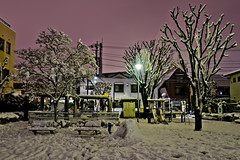 DSC_3783 (Camera Freak) Tags: 180123snowinkameari snow january 2018 nikon d810 night