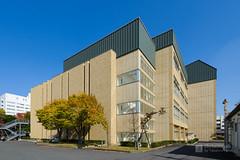 General view of Amano Teiyu Hall (天野貞祐記念館) (christinayan01 (busy)) Tags: architecture perspective saitama japan university building