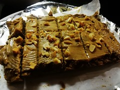 vegan protein snickers (cococonni) Tags: vegan protein snickers snacks