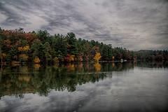 Mirror Lake State Park, WI (mac9001) Tags: mirrorlakestatepark wi state park mirror reflection clouds