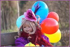 Tivi ... habt einen schönen Tag ... (Kindergartenkinder) Tags: kindergartenkinder annette himstedt dolls gruga grugapark essen tivi