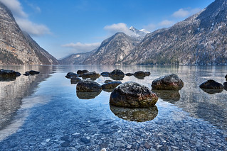 The Swimming Stones of Lake Koenigssee