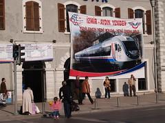 Basmane station, Izmir, Turkey (Steve Hobson) Tags: turkish railways tcdd basmane station izmir
