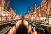 Amsterdam at night (nckotten) Tags: amsterdam night nightphotography city iamsterdam nederland holland grachten canals lights wonderlust europe winter cold reflection