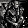 Wayne Escoffery 4et (paolo agostini) Tags: wayneescoffery4et cockneylondonpub padovajazzclub bw bn sassofono sax saxophone doublebass bass contrabasso