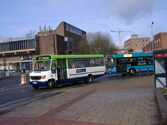Notts&Derby 297 Assembly Rooms (Guy Arab UF) Tags: nottsampderby 297 s297ual 1999 mercedes benz o814d plaxton beaver bus assembly rooms derby derbyshire wellglade buses wellgladegroup