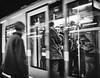 (Forni Michele) Tags: milano italy italia streetphotography metro urban blackandwhite photo photography photographer downtown underground white black europa fujifilm xt1 travel work man