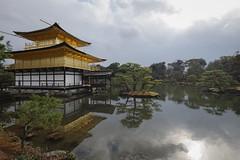 Kinkaku-ji (fredMin) Tags: temple golden pavilion kinkakuji japan kyoto buddhist asia reflection travel lake pond fujifilm xt1 1024