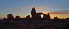 Turret Arch at Sunset (photo61guy) Tags: utah archesnatlpark archesnationalpark arch turretarch sunset goldenhour nature nikond7000 landscape pano panorama desertlandscape desertsouthwest