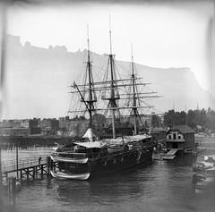 B.W.PADDOCK LOT3 (foundin_a_attic) Tags: 1894 bwpaddock kokak hoboken nj newjersey waterfront river hudsonriver 1900 july fire docks piers disaster ussportsmouth