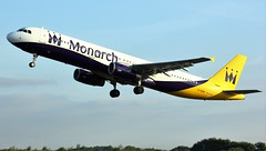 G-OZBH (AnDyMHoLdEn) Tags: monarch a321 egcc airport manchester manchesterairport 23l