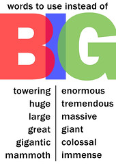 Other words for BIG
