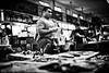 A Fish Vendor (leopc.lin) Tags: noctiluxm 50mm f095 asph fish bw leica noctilux traditional maket