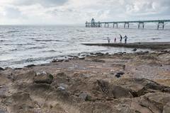 215/365 - Clevedon pier (Spannarama) Tags: 365 august sea seaside coast shore pier people slipway clevedon clevedonpier somerset uk rocks gull seagull