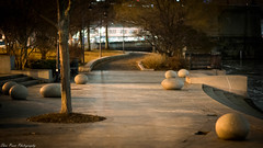 Tranquility at Nashua Street Park (kuntheaprum) Tags: citynightscape boston cityscape nikon d750 samyang 85mm f14 northpointpark charlesriver