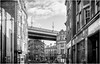 Newcastle Upon Tyne . (wayman2011) Tags: f2 fujifilmxf23mm lightroomfujifilmxpro1 wayman2011 bw mono street city town architecture bridges tynewear tyneside newcastle uk urban