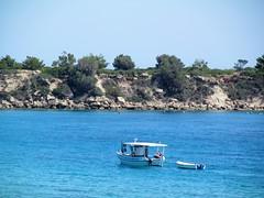 Lazy days (pefkosmad) Tags: captainnikolas boattrip fishing lazydays pefkos pefki pefkoi rhodes rodos dodecanese greece greekislands griechenland hellas boat sea rocks holiday vacation vacances