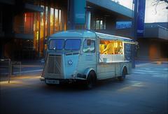 Citroen H Van...Southbank. London, UK (standhisround) Tags: vehicle van citroen london waterloo uk england french citroenhvan takeaway automobile mobile cafe