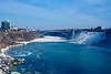 Niagara Falls and Rainbow Bridge (AncasterZ) Tags: niagarafalls americanfalls rainbowbridge falls waterfalls bridge ef50mmf14usm