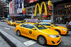USA symbols - New York Yellow Taxi and McDonald's (Michał Banach) Tags: manhattan michałbanach newyork nowyjork usa cab car michalbanach samochód taksówka taxi taxicab yellow yellowtaxi unitedstates us bigapple mcdonalds