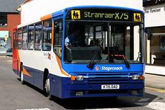 20715 K715 DAO (Cumberland Patriot) Tags: stagecoach western scottish buses west of scotland carlisle cumbria volvo b10m b10m55 b49f alexander ps single deck saloon 715 20715 k715dao step entrance bus derv diesel engine road vehicle x75 stranraer passenger service
