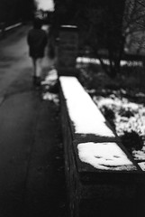 Snow face (Leica M6) (stefankamert) Tags: stefankamert snow face street film analog grain dark noir noiretblanc blackandwhite blackwhite leica m6 leicam6 summicron summicrondr kodak trix