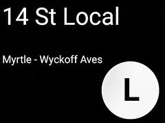R160 LED signs, custom made by me. Hope you like em.  R160 destination signs for the (C) (E) and (L) trains.  #MTA #MetropolitanTransportationAuthority #R160 (lesbiansweetheart91) Tags: r160 metropolitantransportationauthority mta