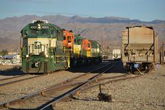 The next morning (CN Southwell) Tags: arizona california rr railroad