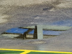 Reflection Protection 10-02-2018 (gallftree008) Tags: protection level 5 carpark swords pavilions co dublin ireland 10022018 level5 arty art artofimages artataglance artistic artyfarty codublin county blue dub dublincity effect eireann eire fingal irish reflection reflected reflective reflections water puddle puddles upsidedown reversed portal abstract surreal